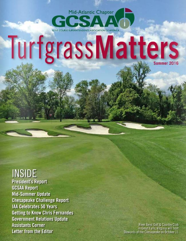 Mid-Atlantic Association of Golf Course Superintendents - Summer ...